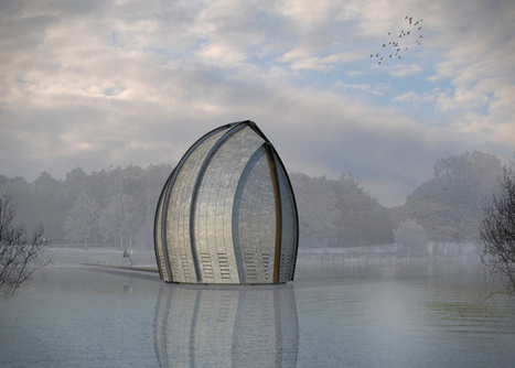 Zinc-clad chapel by René van Zuuk to be built over Almere's city lake in the Netherlands | sustainable architecture | Scoop.it
