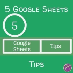 5 Typing Tips for Google Sheets [Infographic] - Teacher Tech | Strictly pedagogical | Scoop.it