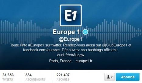 Interview : Europe 1 et les médias sociaux, une continuité dans l'innovation   Tout sur les réseaux sociaux   Scoop.it