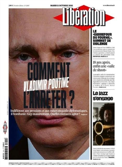 Décryptage édition du 11.10.2016 de #Libération , journal officiel du Ministère de la Vérité #medias #propagande | Infos en français | Scoop.it