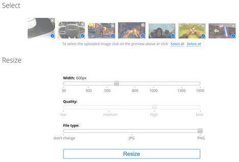 Con esta herramienta redimensionar imágenes en grupo es muy fácil - Geek's Room | Educacion, ecologia y TIC | Scoop.it