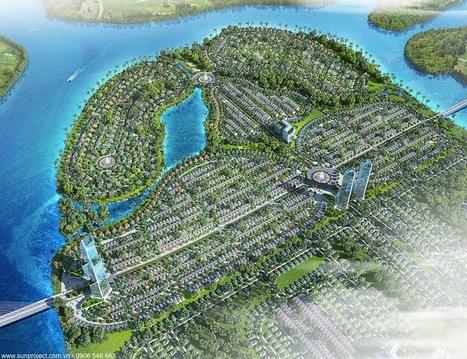 Khu đô thị sinh thái bán đảo Hòa Xuân (The Sun City - Ecolsland) | Sun Group | Scoop.it
