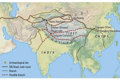Une autre branche de la route de la soie a été découverte | TdF  |   Culture & Société | Scoop.it