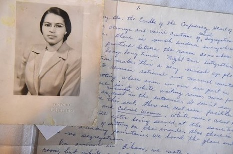 Artifacts show a Rosa Parks steeped in freedom struggle from childhood | Community Village World History | Scoop.it