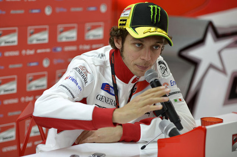 Rossi: the GP12 must be shorter and longer | GPOne.com | Ductalk Ducati News | Scoop.it