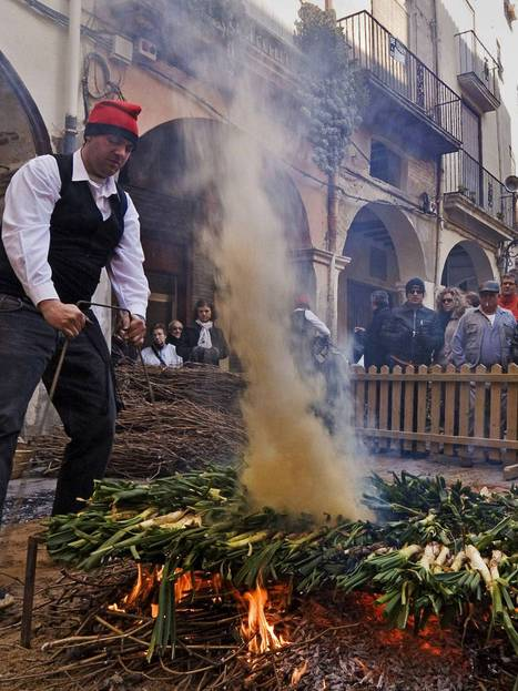 Calçots in Catalonia, where they know their onions | AngloCatalan Affairs | Scoop.it