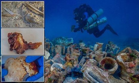 Archaeologists discover human skeleton at Antikythera shipwreck | ScubaObsessed | Scoop.it