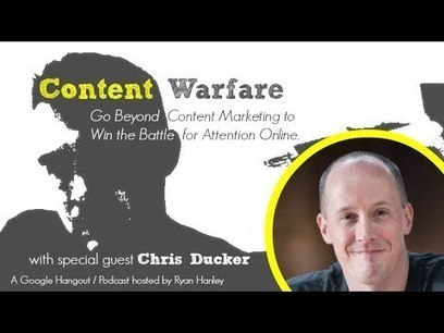 Blogging, Personal Branding and Virtual Freedom | #66 Content Warfare TV | Content Marketing Podcast | Scoop.it