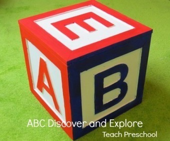 ABC discover and explore in preschool | Happy Days Learning Center - Resources & Ideas for Pre-School Lesson Planning | Scoop.it