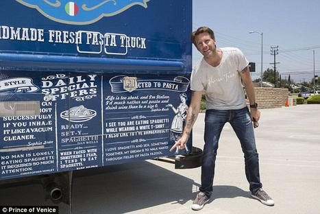 Prince héritier et People – Il crée un food truck de cuisine italienne à Los Angeles | MILLESIMES 62 : blog de Sandrine et Stéphane SAVORGNAN | Scoop.it