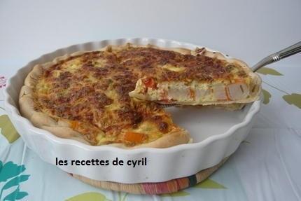 tarte surimi tomate | Recettes de cuisine | Scoop.it
