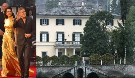George Clooney Might Sell Italian Estate Due To Paparazzi Attention | Paparazzi News | Scoop.it