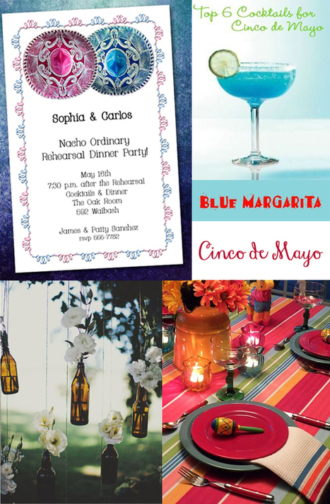 Two Sombreros Cinco de Mayo Invitations and Inspiration | Party Invitations | Scoop.it