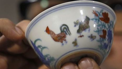 Ming-era chicken cup auctioned for $36M, smashing world record price for Chinese porcelain | Xposing antiques, rare & unique items | Scoop.it
