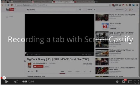 3 Great Tools to Record Screencasts on Chromebook | Technology in Education | Scoop.it