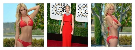 Getting Summer ready with new Golden Globe inspiration | Luxury Designer Swimwear Fashion | Scoop.it