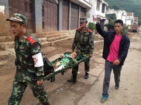 Strong quake kills at least 367 in southern China | Sustain Our Earth | Scoop.it