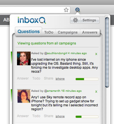 InboxQ brings its Twitter Q&A service to Firefox | VentureBeat | Brand & Content Curation | Scoop.it
