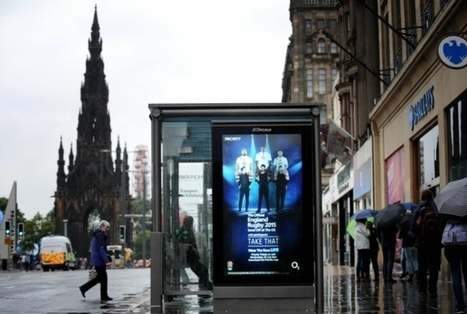 England rugby ads 'blunder' on Princes Street | Today's Edinburgh News | Scoop.it
