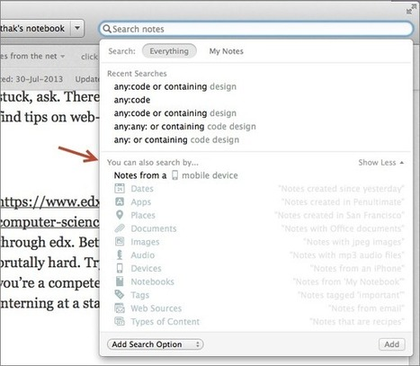 How To Search In Evernote Like A Pro - Guiding Tech | MFL via ICT | Scoop.it
