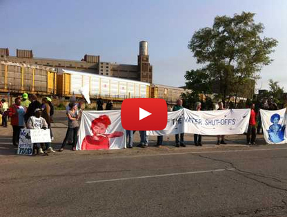 Military device used on Detroit protest against Water Shutoffs | socialaction2014 | Scoop.it