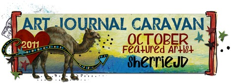 October's Featured Artist for the Art Journal Caravan | Journal For You! | Scoop.it