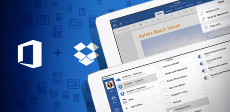 Microsoft, Dropbox To Team on Office Suite - Enterprise Software on CIO Today | Startups Tips and News | Scoop.it