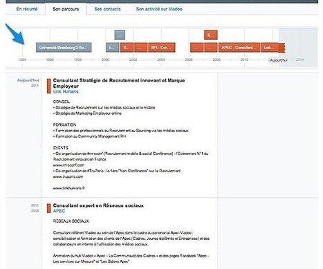 A quoi ressemble le nouveau profil Viadeo ? | E-Réputation des marques et des personnes : mode d'emploi | Scoop.it