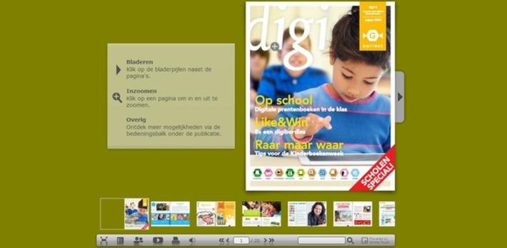 Edu-Curator: Nieuw gratis online tijdschrift: Digi | Educatief Internet - Gespot op 't Web | Scoop.it