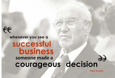 Peter Drucker Quote | Embodied Leadership | Scoop.it