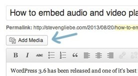 How to embed audio and video players in WordPress | WordPress News | Scoop.it