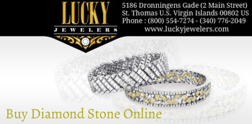 How To Choose A Diamond Stone From An Online Store? | Lucky Jewelers, Inc. | Scoop.it