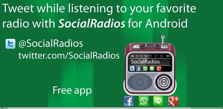 Radio merges with Twitter in SocialRadios | Radio 2.0 (Fr & En) | Scoop.it