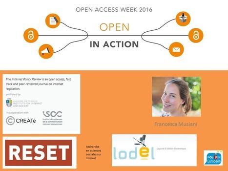 Plaidoyer pour le travail éditorial et la publication en Open Access par Francesca Musiani | Edition scientifique | Scoop.it