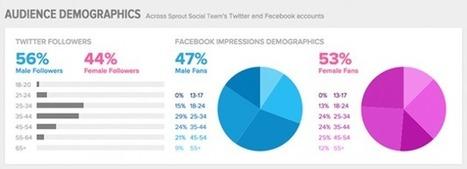 Chiffres 2015 des données démographiques sur les réseaux sociaux   Formation multimedia   Scoop.it