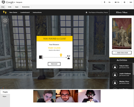 Hangout Quest - A Google+ Game | Technology in Art And Education | Scoop.it
