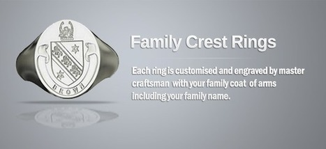 Family Crest Rings   Family Pride   Scoop.it
