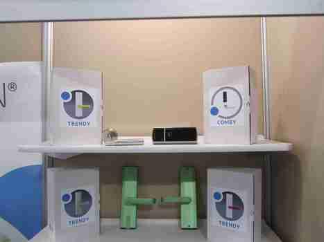 #CES2014 : iBlueOpen, la serrure Bluetooth non connectée - News Domotiques by Domadoo | Electro access | Scoop.it