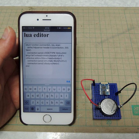 Programming ESP8266 Boards with a Smartphone | Embedded Systems News | Scoop.it