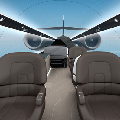 Ixion windowless private jet by Technicon Design | Architecture and Architectural Jobs | Scoop.it