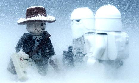 Un passionné reconstitue les scènes de Star Wars et Indiana Jones avec des LEGO de façon magistrale | Star Wars | Scoop.it