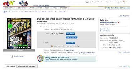 Une librairie comics de renom en vente sur ebay | BiblioLivre | Scoop.it