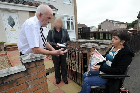 Bedroom tax: Disabled mum Lorraine harangued by rattled Labour council leader Jim McCabe after turning up at his home to confront him over eviction | Unionist Shenanigans | Scoop.it