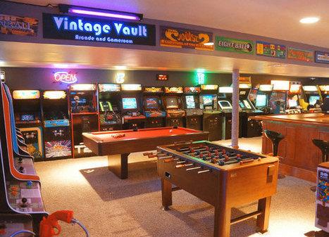 Un garage transformé en salle de jeux vintage | Arts & Culture | Scoop.it