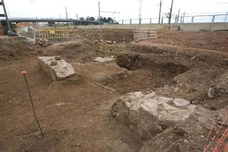 Hallan restos romanos en las obras del corredor mediterráneo en Sagunt | TABELLAE MAGISTRI | Scoop.it
