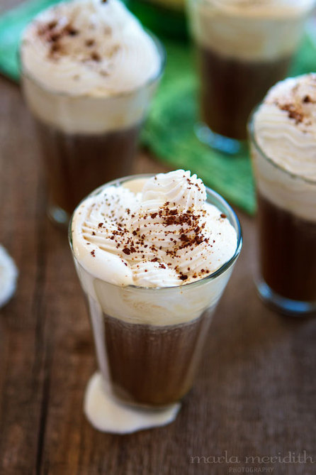 Irish Coffee Shooters (Hot or Iced) | Pasión por la Cocina..... | Scoop.it