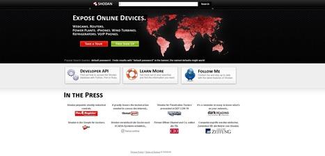 Shodan le moteur de recherche des objets connectés   Objets connectés   Scoop.it