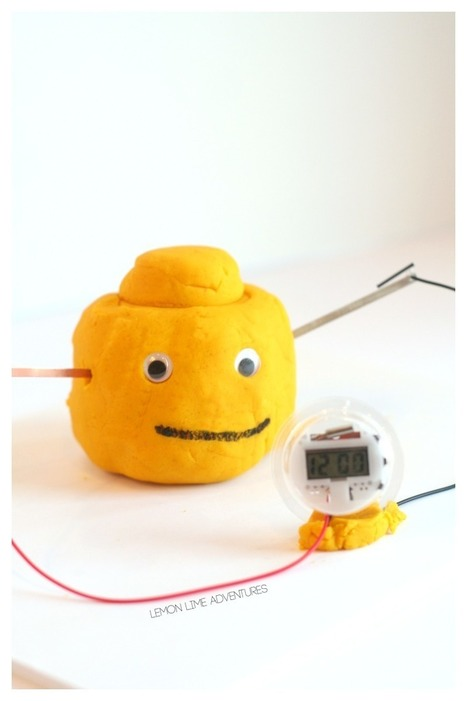 Lego Inspired Electric Play Dough - Lemon Lime Adventures | Educação Tecnológica | Scoop.it