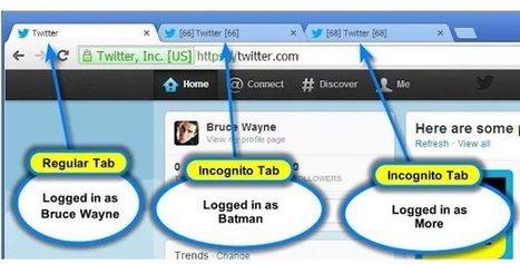 Una extensión de Chrome para tener varias cuentas abiertas en Twitter, Facebook… o cualquier sitio | Al calor del Caribe | Scoop.it