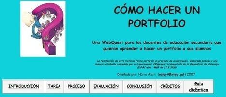 Portafoli digital | EDUDIARI 2.0 DE jluisbloc | Scoop.it